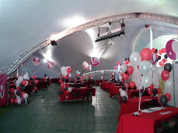 Exhibition With Marquee Flooring Amazing Tent