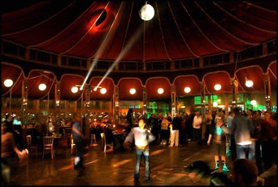 Inside a Spiegeltent & Spiegeltent Agents | Amazing Tent