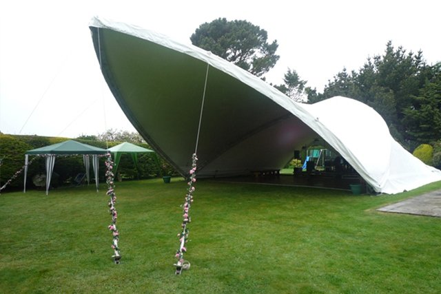 SaddleSpan is a unique large tent design that can be configured into a huge variety of different shapes suitable for many different purposes.  sc 1 st  Amazing Tent & All you need to know about SaddleSpan | Amazing Tent